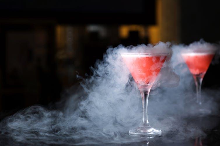 Удаление желудка после коктейля с жидким азотом