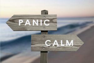 Знак панической атаки