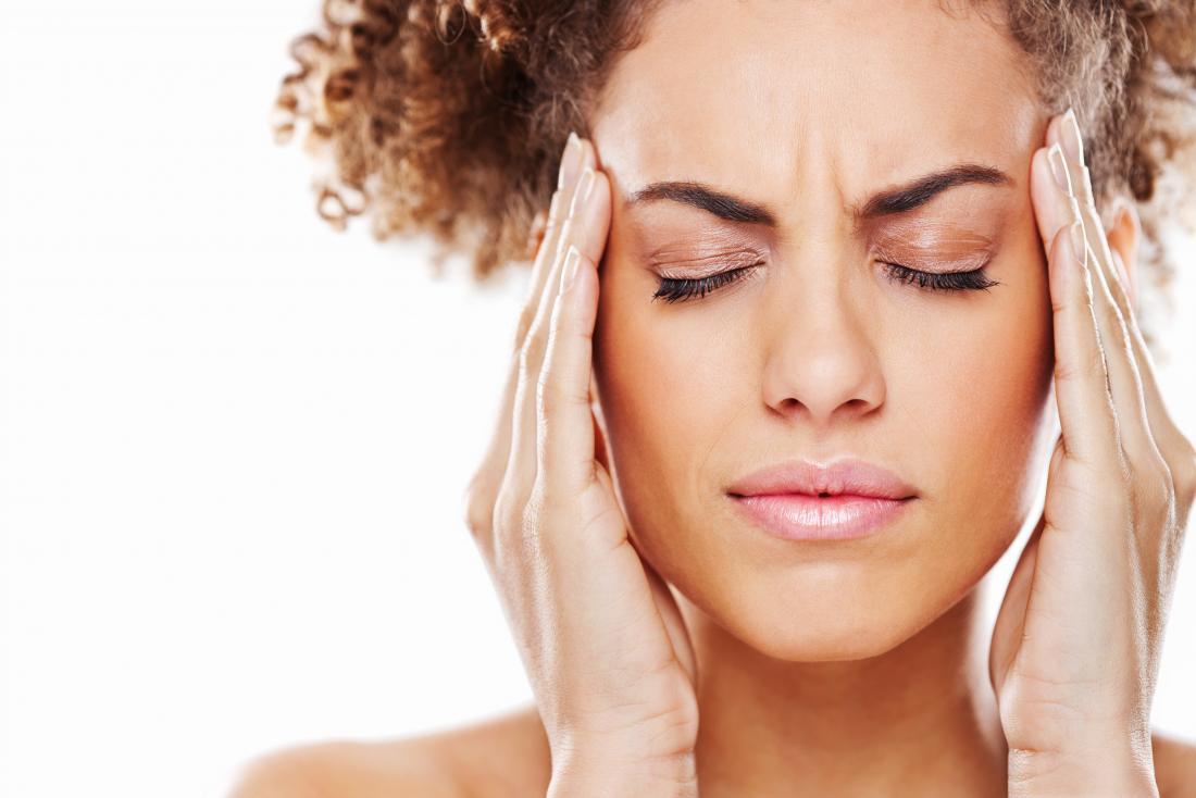 головная боль лоб