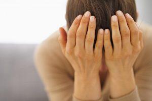 Женщина нервный срыв